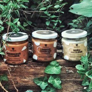 orechove masla