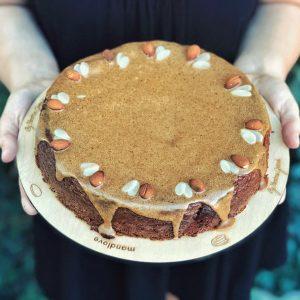 Torta z mandľovej múky