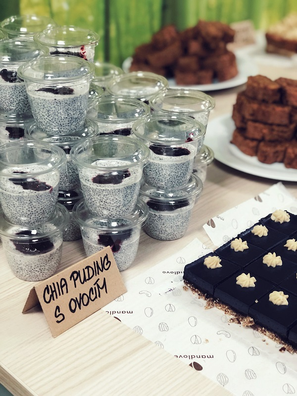 chia puding catering
